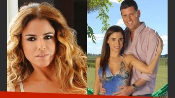 Marina Calabró se separó de Martín Virasoro. (Fotos: Ciudad.com y Web)