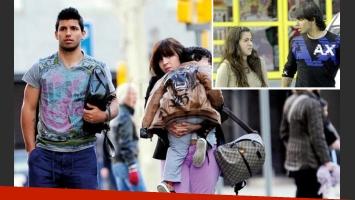 Gianinna Maradona confirmó su separación del Kun Agüero, con quien tuvo un hijo: Benjamín. (Fotos: archivo Web)