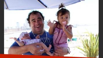La Tota Santillan, día de playa en familia. (Foto: Ciudad.com/Jorge Amado Group)