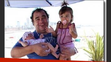 La Tota Santillán y su hijita Mía. (Foto: Ciudad.com/Jorge Amado Group)