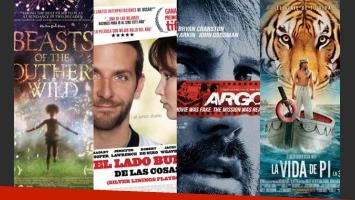 Las candidatas a los Oscar 2013.
