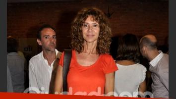 María Carámbula en el estreno. (Foto: Jennifer Rubio-Ciudad.com)