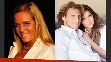 Alejandra Forlán habló de la mediática ruptura de su hermano y Zaira (Foto: Web).