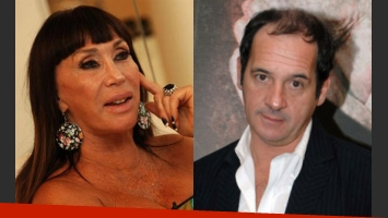 Moria reveló que le gusta Julio Chávez (Fotos: Web).