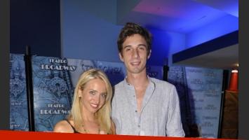 Nazarena Nóbile y su novio, Juan Baldi. (Foto: Jennifer Rubio-Ciudad.com)