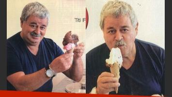 Tití Fernández abrió su propia heladería en Parque Chacabuco (Foto: Revista Paparazzi).
