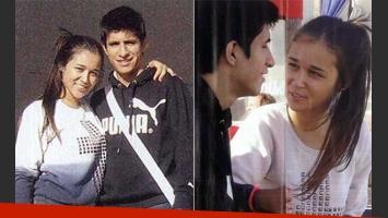 Aline Lucena y Mauricio del Castillo Agüero, de novios. (Fotos: revista Pronto)