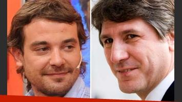 Pedro Alfonso será el imitador de Amado Boudou. (Fotos: Web)