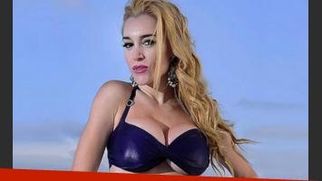 El video prohibido de Fátima Florez llegó a las webs de Estados Unidos.