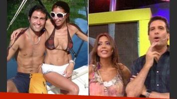 Junto a Rodrigo Santos, su última pareja, y su paso por Este es el Show (Fotos. Web).