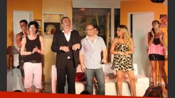 El debut de los hermanos Pettinato, en Carlos Paz. (Foto: Vig Comunicaciones)