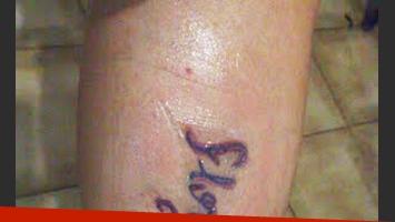 El tatuaje de la fan de Flor Peña (Foto: Twitter)