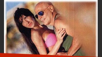 Las románticas vacaciones de Zeta Bosio y su mujer en Playa del Carmen. (Foto: revista Gente)