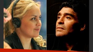 Verónica Ojeda fue visitada por las hermanas de Diego Maradona tras el nacimiento de su hijo. (Foto: Archivo Web)
