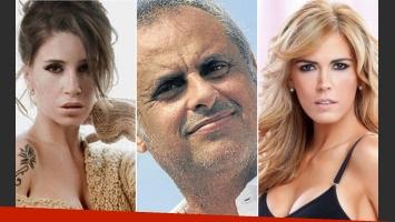 Florencia Peña, Jorge Rial y Viviana Canosa, protagonistas del verano 2013. (Fotos: archivo Web)
