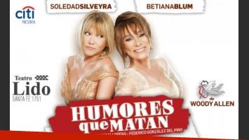 Betiana Blum se va de Humores que matan. (Foto: Web)