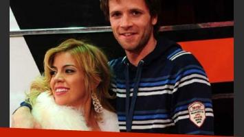 Virginia Gallardo y el voleibolista Guillermo García. Otra oportunidad para el amor. (Foto: archivo Web)