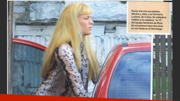 Rocío Oliva, la nueva novia de Maradona rompió el silencio (Fotos: revista Caras).