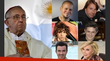 La elección de Bergoglio, el nuevo papa: los mensajes de los famosos internacionales en Twitter