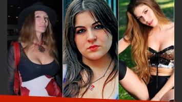 Amalia Pinetta y sus hijas: Antonella Menem y Macarena. (Foto: Web)