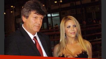 Carina Galucci y Carlín Calvo, en otros tiempos. (Foto: Web)