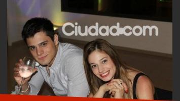 Lucas Velasco y Victoria Irouleguy, reconciliados. (Foto: Ciudad.com)