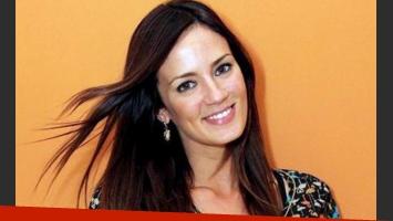 Paula Chaves, antes: con pelo largo y más oscuro. (Foto: Web)