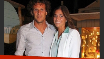 Diego Forlán y Paz Cardoso, rumbo al altar. (Foto: Urushow.com)