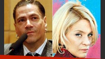 Roberto Piazza y el escándalo con Leticia Brédice. (Fotos: Web)