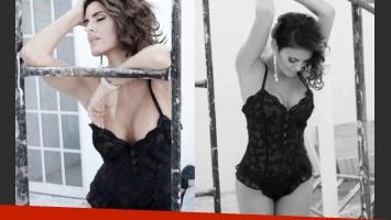 Silvina Luna, sensual, en una producción para la revista SH.