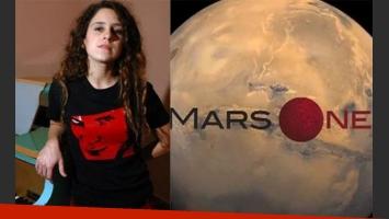 Carla Pugliese quiere irse a vivir a Marte. (Fotos: Web)