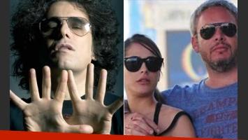 Andrés Calamaro usó Twitter para ¿responderle? a Victoria Vannucci y Matías Garfunkel. (Fotos: Web)