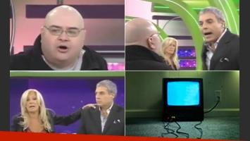 Jorge Porcel y un escándalo en Implacables.