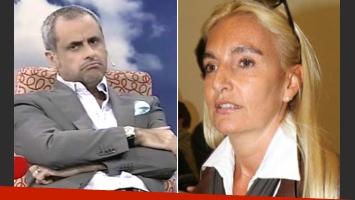 Jorge Rial y Silvia D Auro, de la guerra mediática a la batalla en Tribunales. (Fotos: América y Web)
