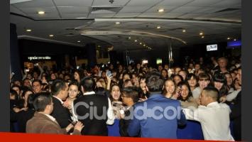 Los fans estaban eufóricos en el estreno de la peli (Foto: Jennifer Rubio).