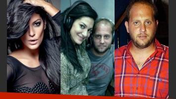Silvina Escudero y Cayetano pusieron fin a su relación (Fotos: Web).