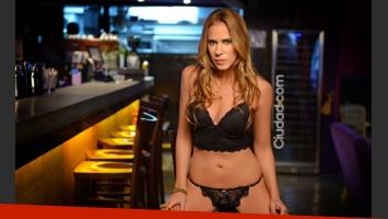 Marcela Baños en su producción más sensual (Foto: Maxi Didari -Ciudad.com).