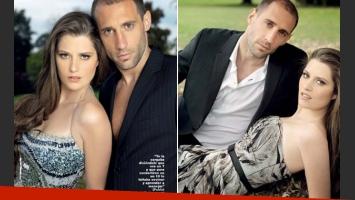 Pablo Zabaleta y Christel Castaño se casan este sábado. (Fotos: revista Gente)
