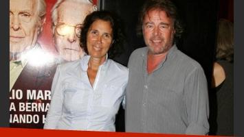 Mario Pasik y Marta Betoldi, separados. (Foto: archivo Web)