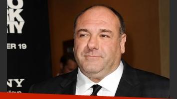 James Gandolfini, el protagonista de Los Soprano. (Foto: Web)