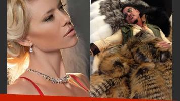 Ricardo Fort y Nicole Neumann, enfrentados por la defensa de los animales. (Foto: Web)