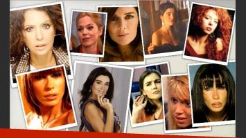 Las cinco famosas a las que no les pasan los años. (Fotos: Web)
