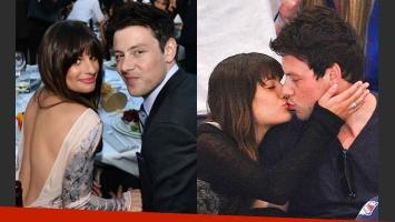 Lea y Cory, en tiempos felices y pleno romance (Fotos. Web).