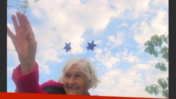 El emotivo homenaje tuitero de Carla Peterson a su abuela (Foto: Twitter y Web).