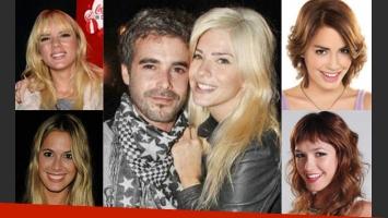 Los famosos felicitaron a Cabré y la China en Twitter (Fotos: Web).