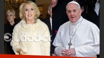 Mirtha quiere sentar al Papa Francisco a su mesa (Foto: Archivo Ciudad.com y Web).