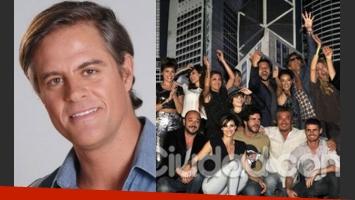 Mike Amigorena deja Vecinos en guerra. (Fotos: Web y Ciudad.com)