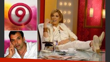 Diego Toni, gerente de Contenidos de Canal 9, quiere que Viviana Canosa sigue en sus filas. (Fotos: archivo Web)