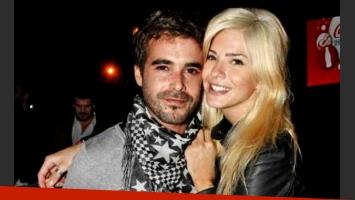 Nicolás Cabré y la China Suárez, felicidad pura (Foto: Web).