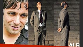 Martín Bossi como Olmedo. (Fotos: Web y revista Gente)